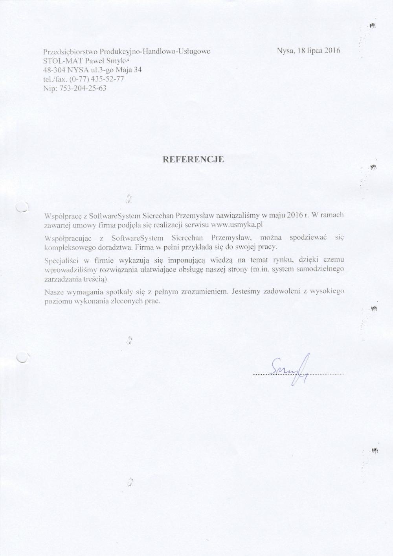 STOL-MAT Paweł Smyk